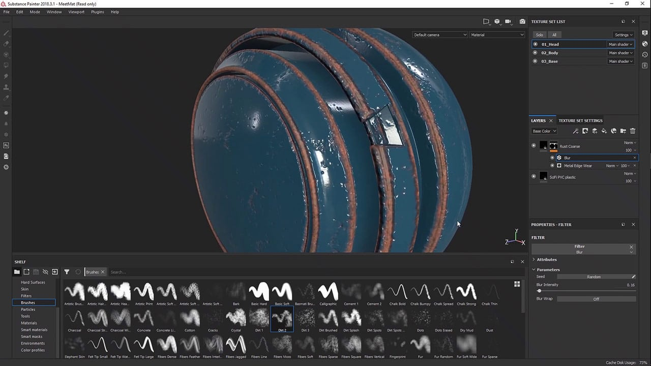 Introduction to Substance Painter | FlippedNormals