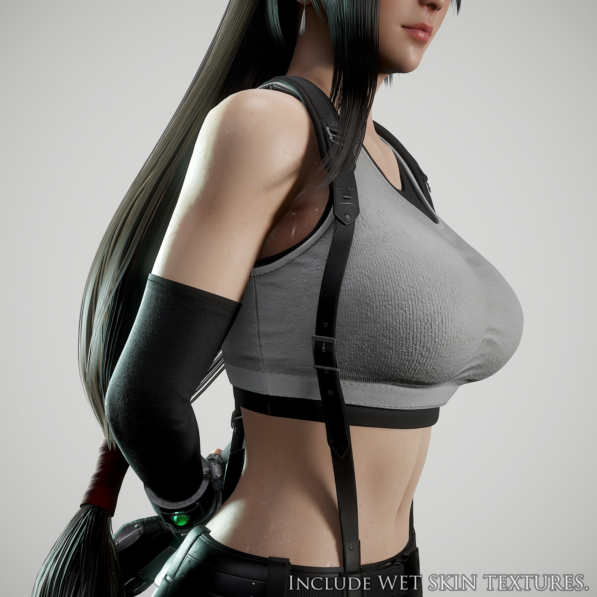 Tifa Lockhart Game Ready Flippednormals