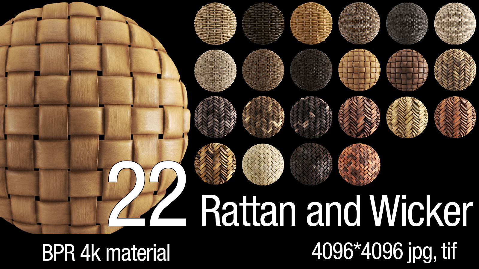 Rattan and Wicker Material