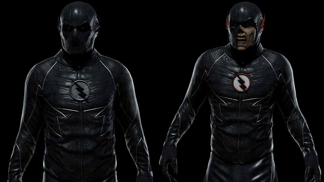 Zoom Black Flash Rigged Character Pack Flippednormals